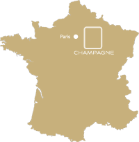 Situation de la Champagne en France